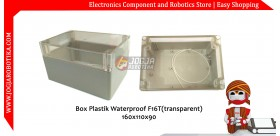 Box Plastik Waterproof F16T(transparent) 160x110x90mm