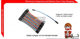 Kabel Jumper 10 Cm Female-Female Ecer 1pcs