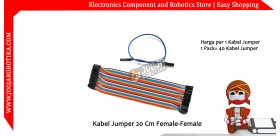 Kabel Jumper 20 Cm Female-Female Ecer 1pcs
