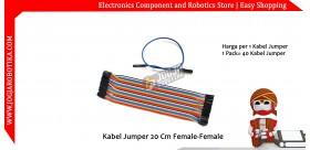 Kabel Jumper 20 Cm Female-Female Ecer 1pcs