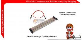 Kabel Jumper 30 Cm Male-Female Ecer 1pcs