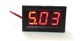 Two-Wire 5V-120V Digital Voltmeter