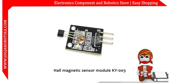 Hall magnetic sensor module KY-003