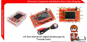 JYE Tech DSO138 DIY Digital Oscilloscope Kit