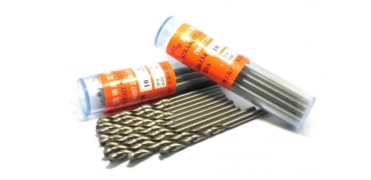Mata Bor HSS Straight Shank Twist Drill Bit 3mm