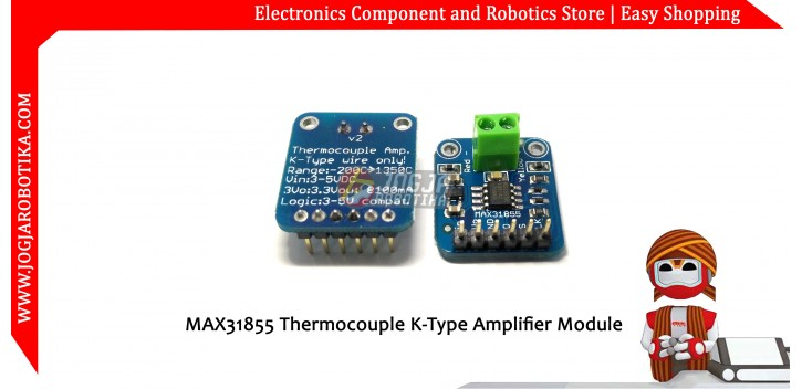 MAX31855 Thermocouple K-Type Amplifier Module