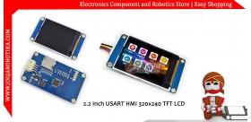 2.2 Inch USART HMI 320x240 TFT LCD