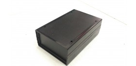 Box Plastik HItam 150x100x 50mm