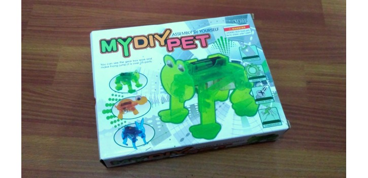 My DIY Pet Assembly By Yourself NT8003 - Frog