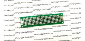 PCB Lubang IC 2x8Cm FR4 Double Layer