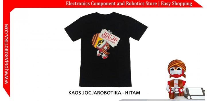 KAOS JOGJAROBOTIKA - HITAM