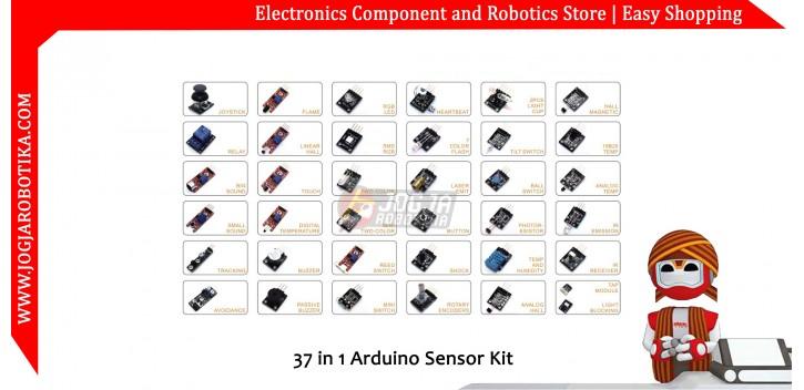 37 in 1 Arduino Sensor Kit