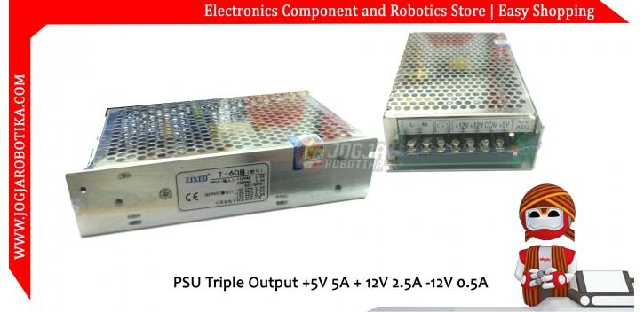 PSU Triple Output +5V 5A + 12V 2.5A -12V 0.5A