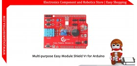 Multi-purpose Easy Module Shield V1 for Arduino