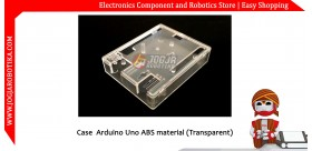 Case Arduino Uno ABS material (Transparent)