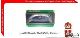 20x4 LCD Character Green BG