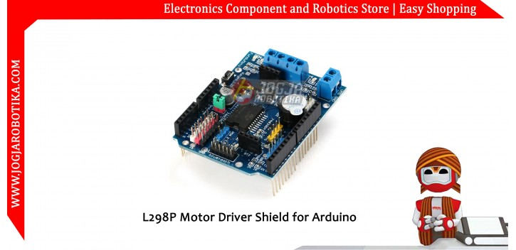 L298P Motor Driver Shield for Arduino