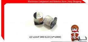 25V 470UF SMD ELCO (10*10MM)