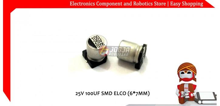 25V 100UF SMD ELCO (4*5MM)