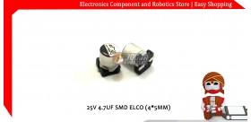 25V 4.7UF SMD ELCO (4*5MM)