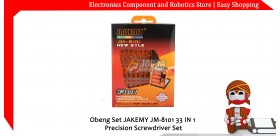 Obeng Set JAKEMY JM-8101 33 IN 1 Precision Screwdriver Set