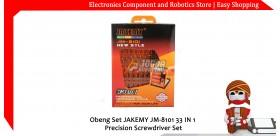 Obeng Set JAKEMY JM-8101 33 IN 1 Precision Screwdriver Set
