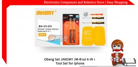Obeng Set JAKEMY JM-8120 6 IN 1 Tool Set for Iphone