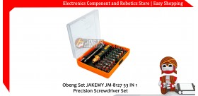 Obeng Set JAKEMY JM-8127 53 IN 1 Precision Screwdriver Set