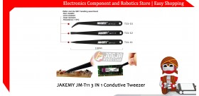 JM-T11 3 IN 1 Condutive Tweezer