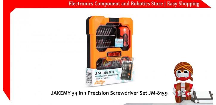 JAKEMY 34 in 1 Precision Screwdriver Set JM-8159