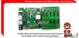 TF-QB3 Video and Audio Asynchronous Dual Function(as sending card or Asynchronoucontroller)