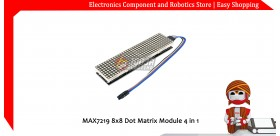 MAX7219 8x8 Dot Matrix Module 4 in 1