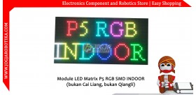 Module LED Matrix P5 RGB SMD INDOOR (Merk Tidak Diketahui)