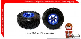 Roda Off-Road HSP 130mm-Biru