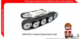 NEW ROT-5 Tracked Chassis Robot Tank