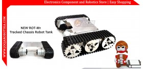 NEW ROT-M1 Tracked Chassis Robot Tank