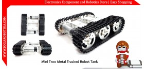 Mini T100 Metal Tracked Robot Tank