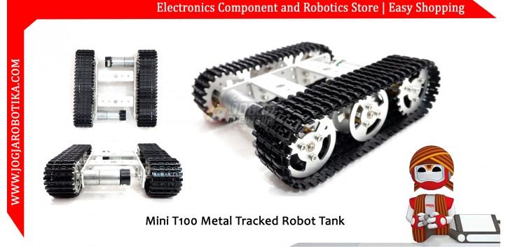 Mini T100 Metal Tracked Robot Tank
