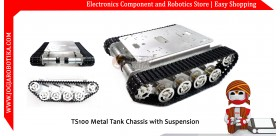 TS100 Metal Tank Chassis with Suspension