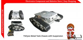 TSD300 Metal Tank Chassis with Suspension