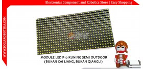 Modul Led P10 Kuning (Semi Outdoor)