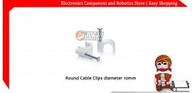 Round Cable Clips / Klem Kabel diameter 10mm YAN