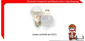 Lampu led bulb 9W Acell
