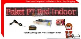 Paket P7 Merah Indoor 128x16