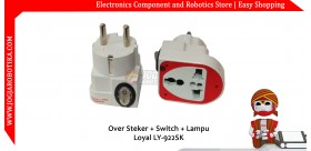 Over Steker + Switch Lampu + LOYAL LY-922SK