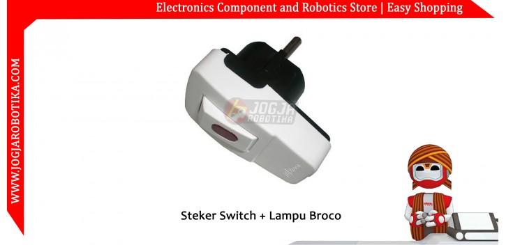 Steker Switch + Lampu Broco
