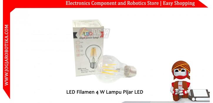 LED Filamen 4 W Lampu Pijar LED