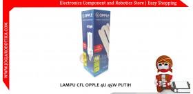 LAMPU CFL OPPLE 4U 45W PUTIH