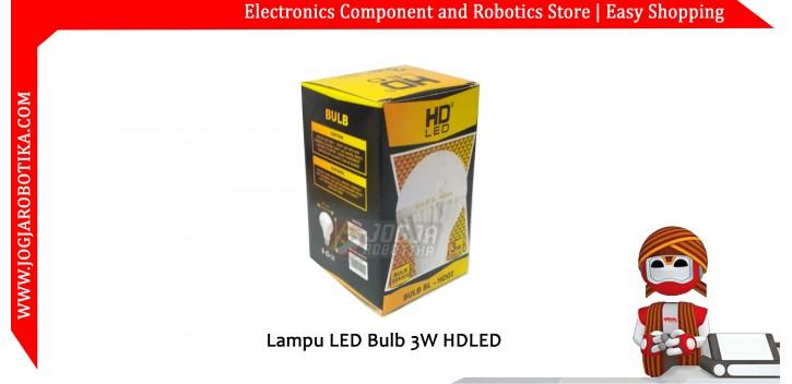 LAMPU LED Bulb 3W HDLED