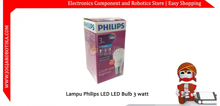 Lampu LED Bulb 3 watt PHILIPS